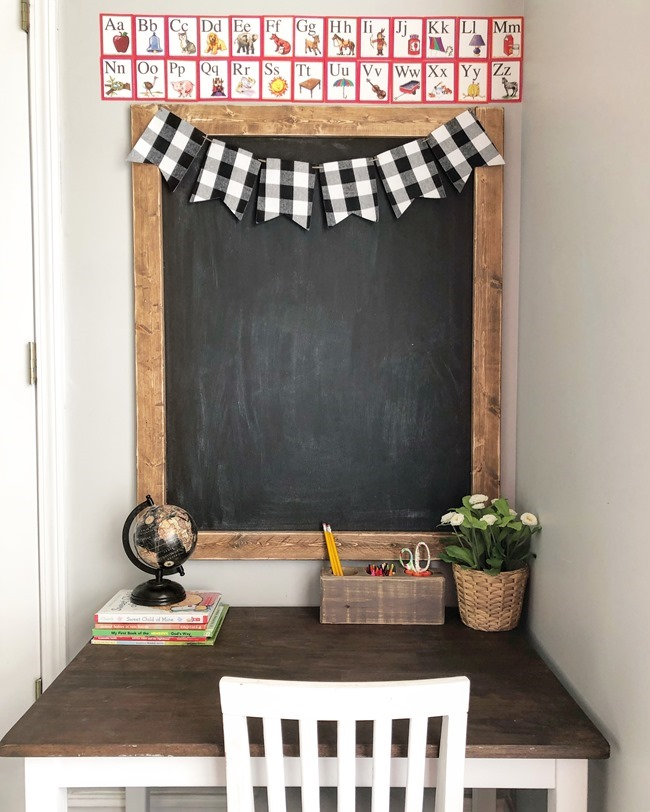 How to make a large DIY chalkboard-7
