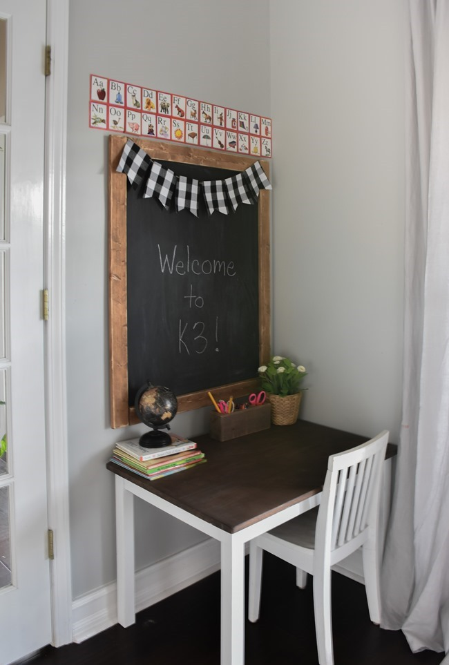 Home Office- Craft Room- Homeschool Room makeover-25