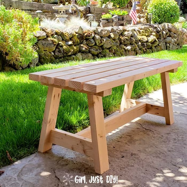 Modern-2x4-Bench-DIY-SquarePic-Girl-Just-DIY