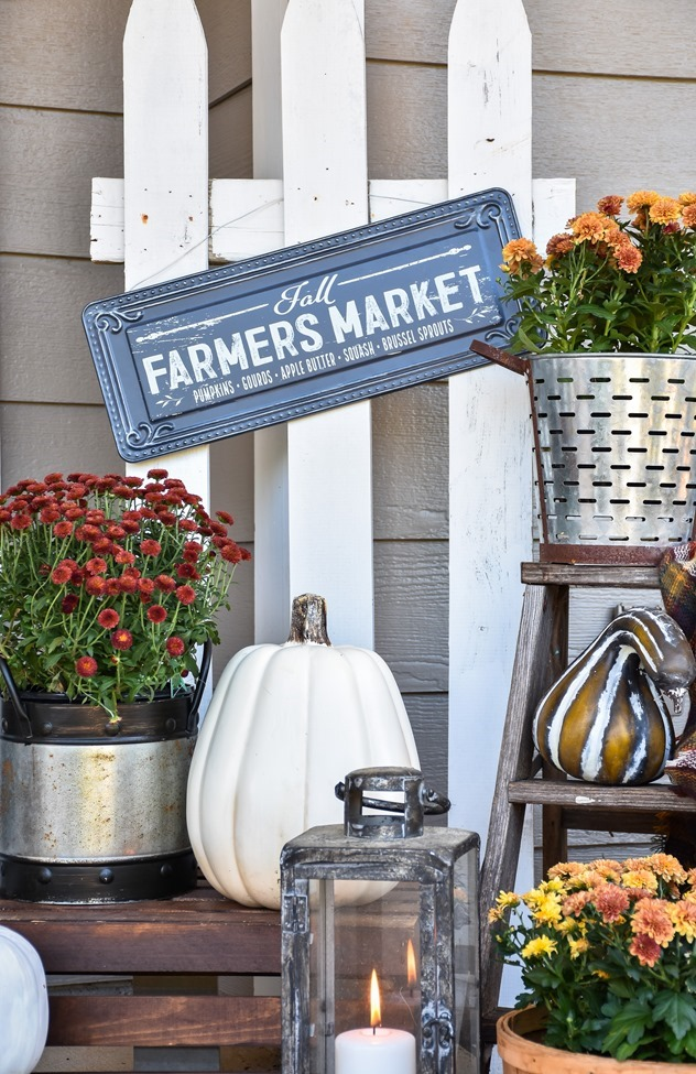 Farmhouse Fall Farmer's Market Front Porch-17