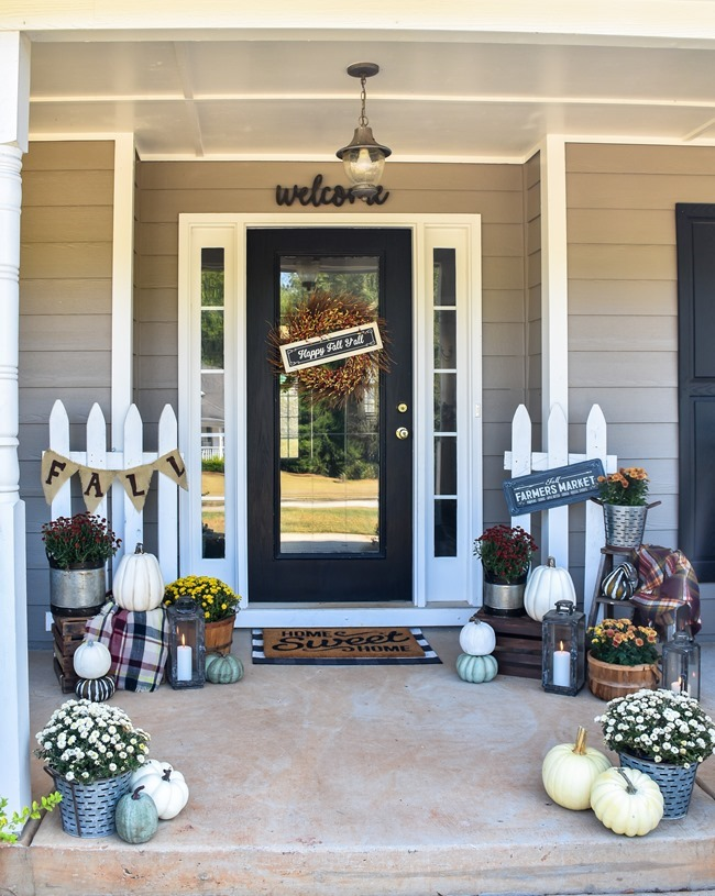 Farmhouse Fall Farmer's Market Front Porch-21