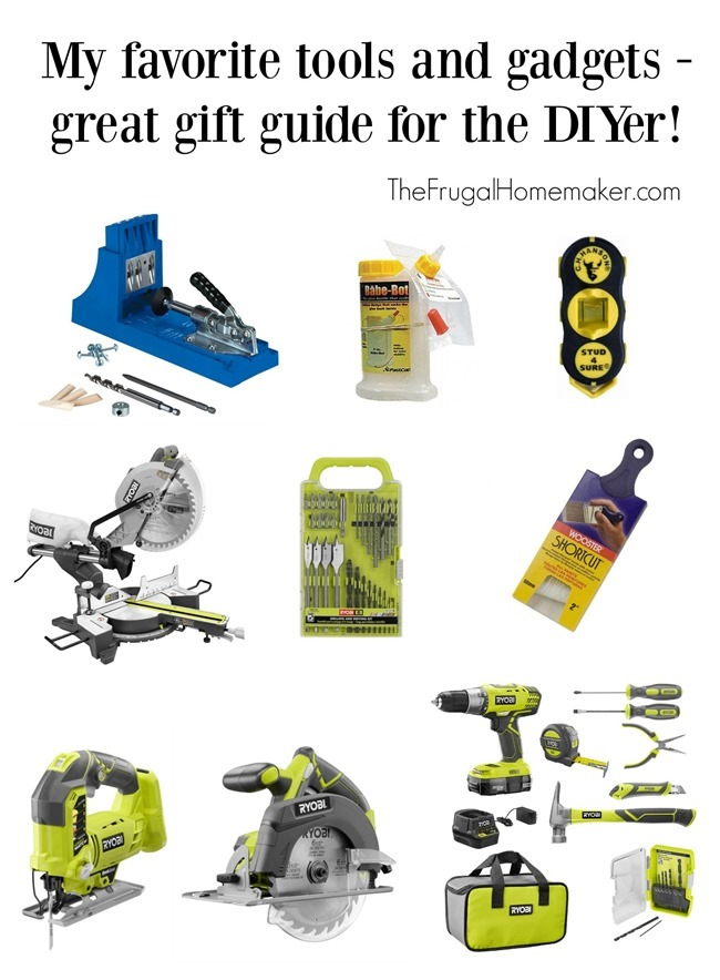 Favorite Tools and Gadgets - Gift Guide for the DIYer