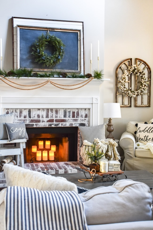 Cozy Neutral Winter Living Room-1