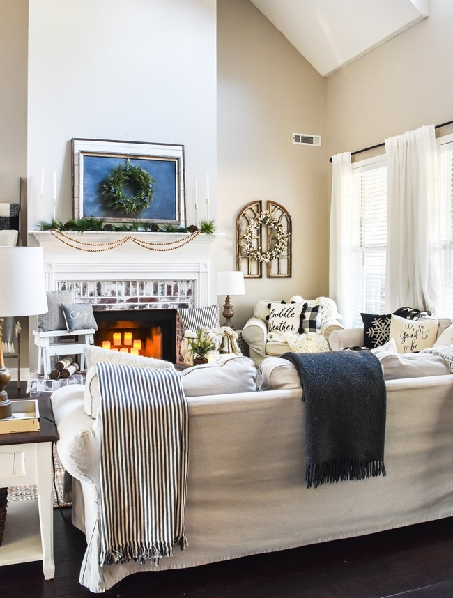 Cozy Neutral Winter Living Room-2
