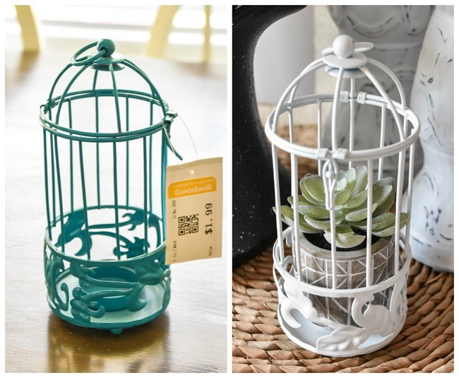 beforeafter of wire cage