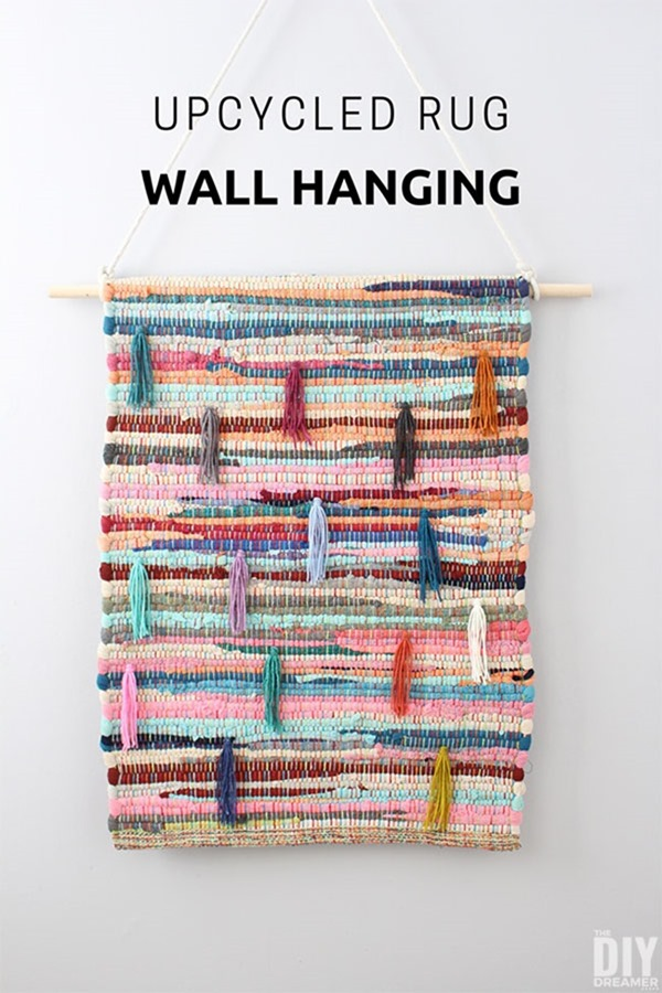 how-to-upcycle-a-rug-into-a-wall-hanging