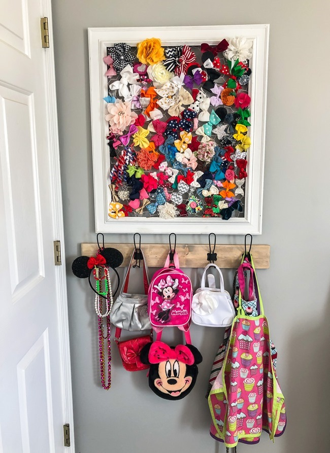 DIY Easy Hook Rack (Build to Organize)-12
