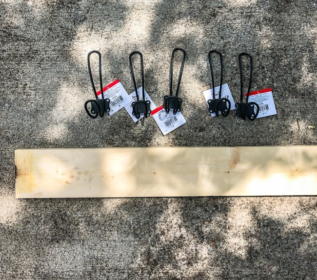 DIY Easy Hook Rack (Build to Organize)-2