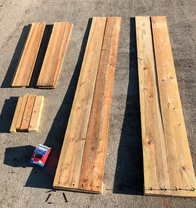 DIY Raised Garden Beds made with cedar fence pickets-1