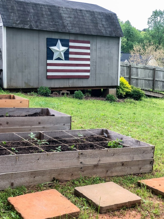 DIY Raised Garden Beds made with cedar fence pickets-17