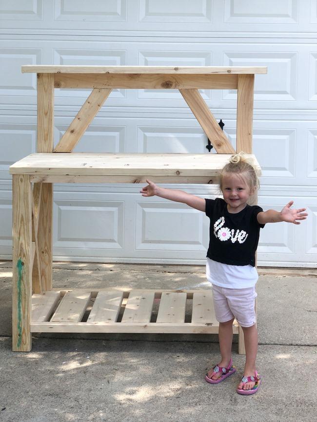 DIY Farmhouse Potting Bench-18