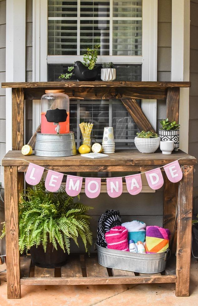 DIY Farmhouse Potting Bench-24