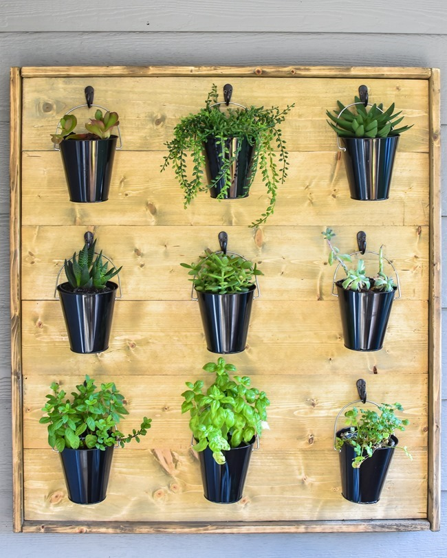 DIY Hanging Plant Wall-35