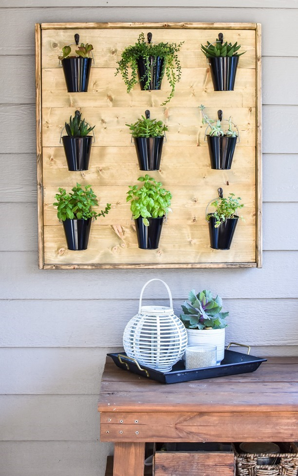 DIY Hanging Plant Wall-36