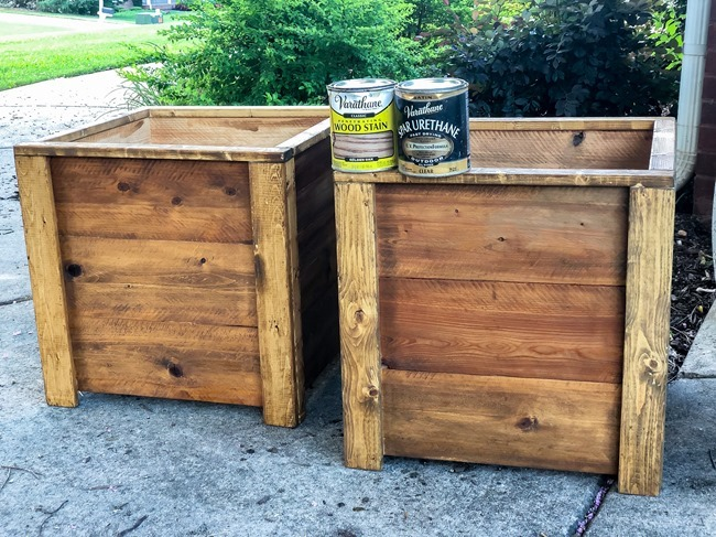 DIY Cedar Wood Planters-31