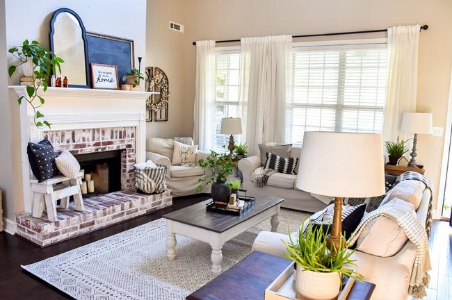 Living room updates new rug-14