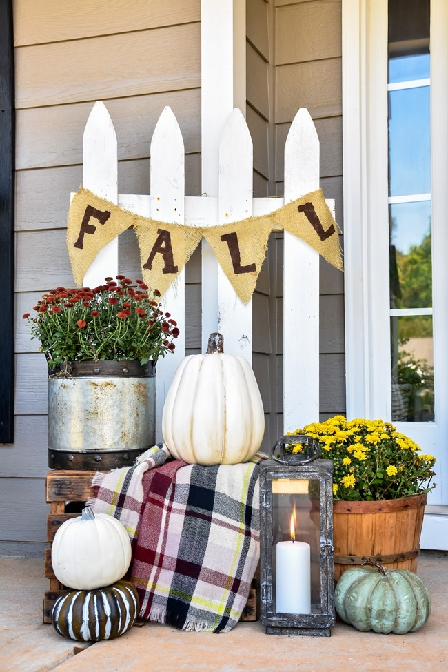 Farmhouse Fall Farmer's Market Front Porch-15