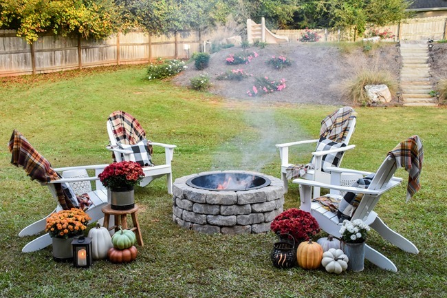 How to build a DIY firepit in your backyard-11