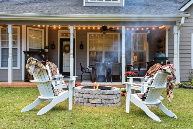 How to build a DIY firepit in your backyard-36