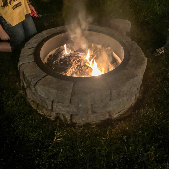 How to build a DIY firepit in your backyard-55