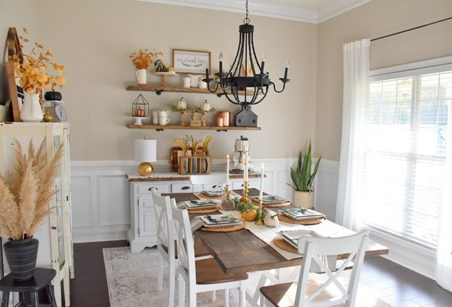 Fall dining room and thanksgiving table-20