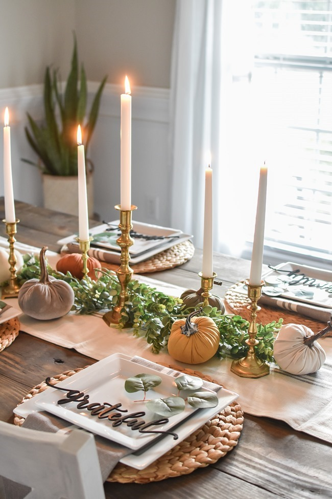 Fall dining room and thanksgiving table-21