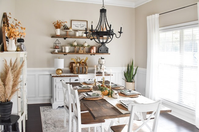 Fall dining room and thanksgiving table-24