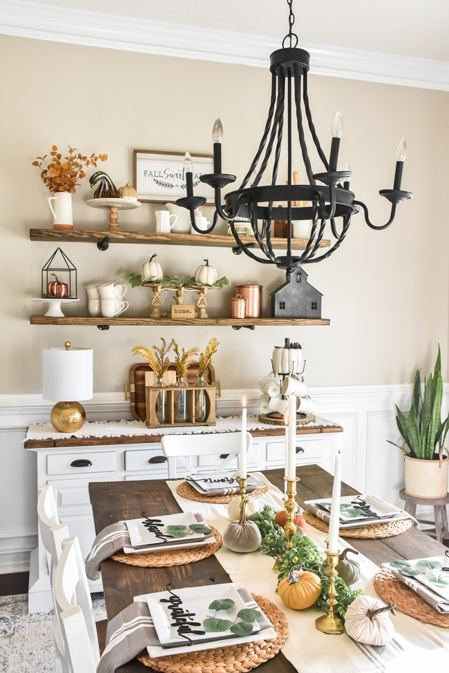 Fall dining room and thanksgiving table-25