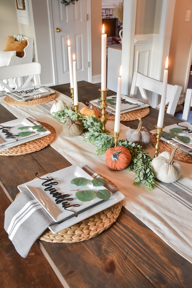 Fall dining room and thanksgiving table-5