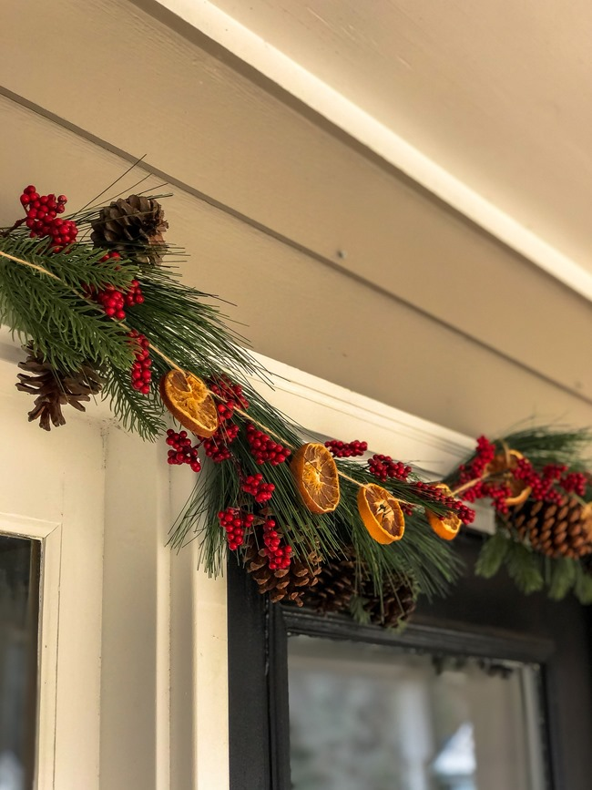 Classic Christmas front porch -41