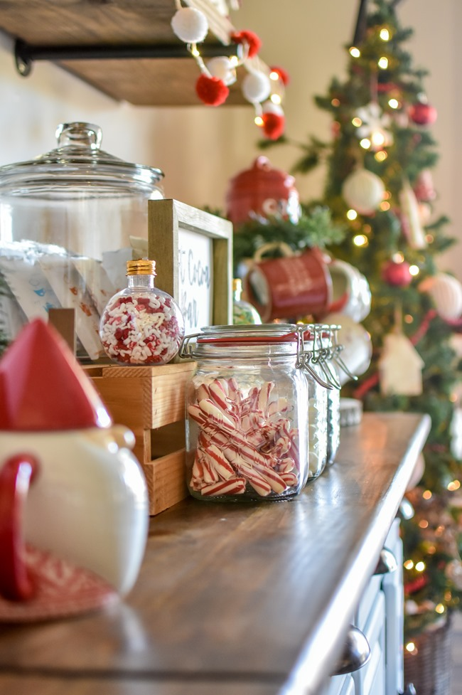 How to create an easy Hot Cocoa Bar with a DIY Hot Cocoa Bar sign-10