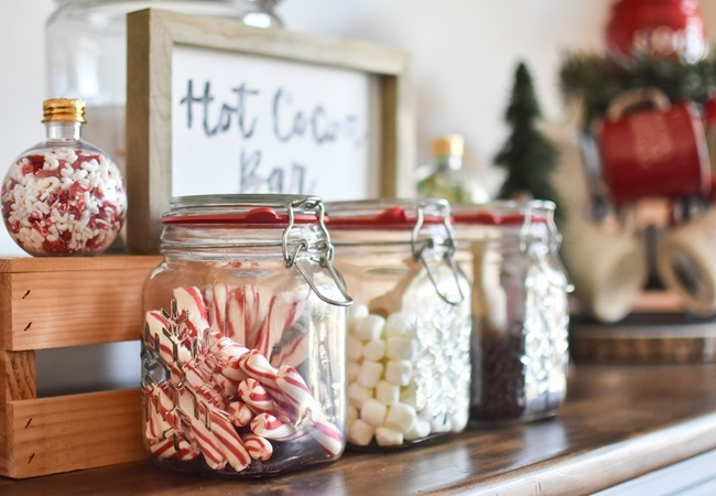 How to create an easy Hot Cocoa Bar with a DIY Hot Cocoa Bar sign-26
