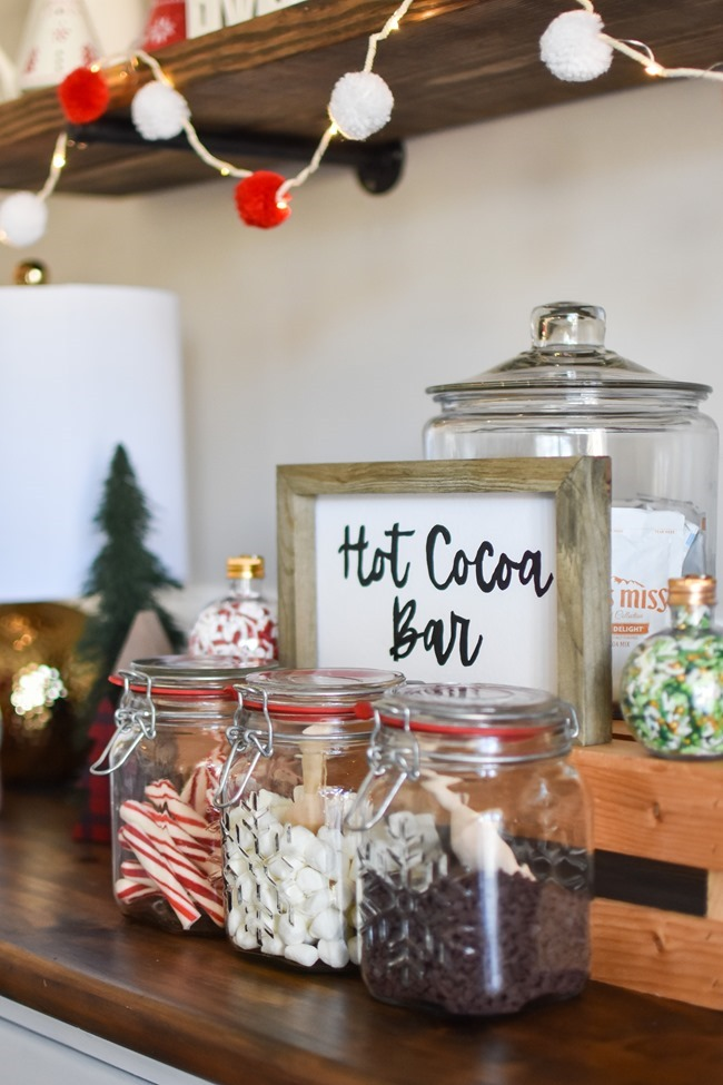How to create an easy Hot Cocoa Bar with a DIY Hot Cocoa Bar sign-28