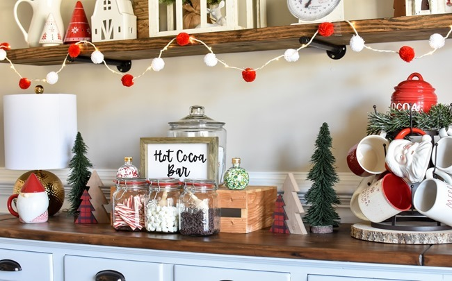 How to create an easy Hot Cocoa Bar with a DIY Hot Cocoa Bar sign-30