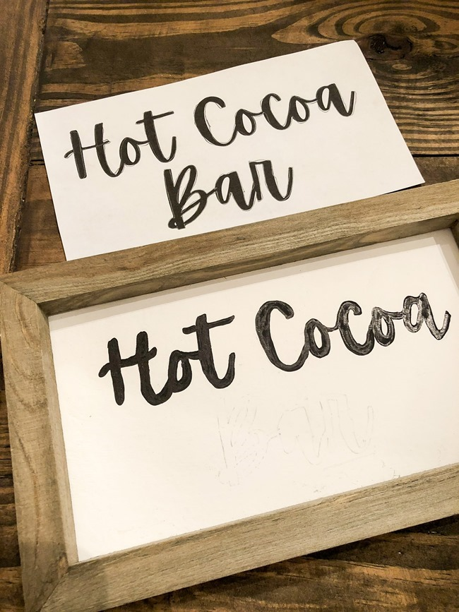 How to create an easy Hot Cocoa Bar with a DIY Hot Cocoa Bar sign-41