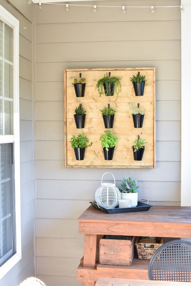 DIY Hanging Plant Wall-41