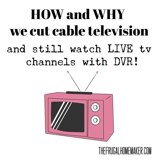 How and Why we cut cable television