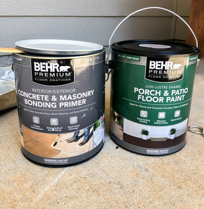 How to paint a concrete patio or porch-1