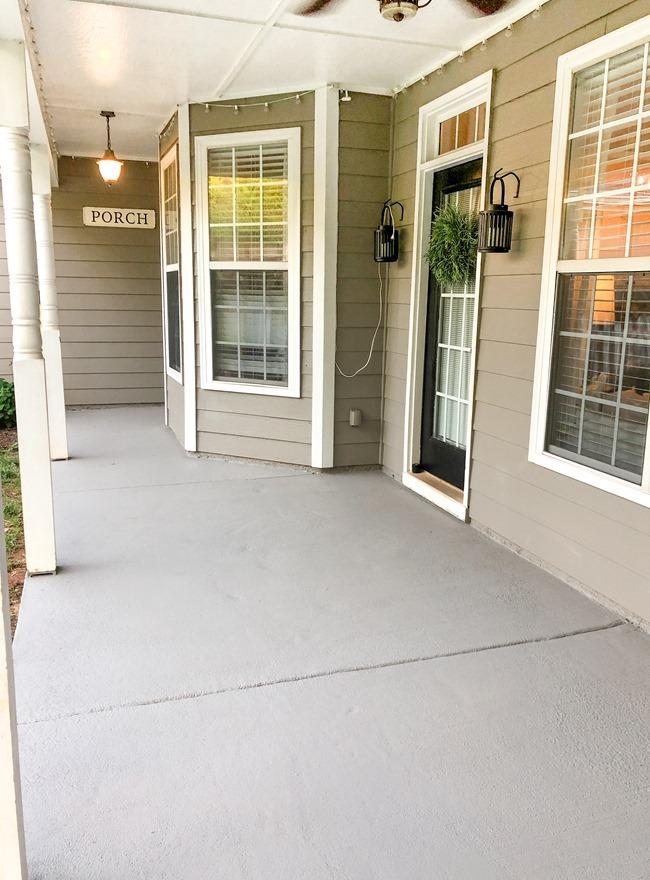 How to paint a concrete patio or porch-11