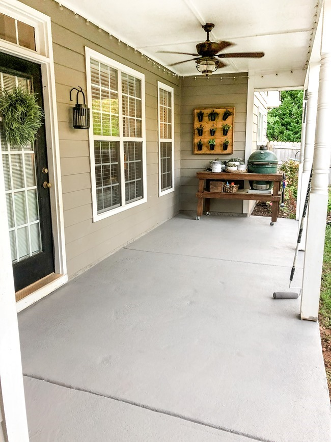 How to paint a concrete patio or porch-9