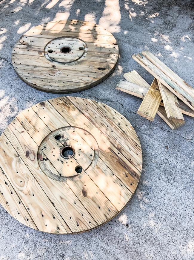 Wooden spool DIY ideas-1