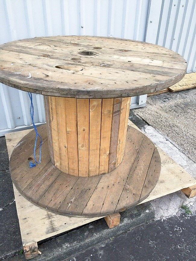 Wooden spool DIY ideas-27