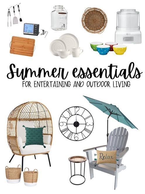 Summer entertaining & Patio essentials