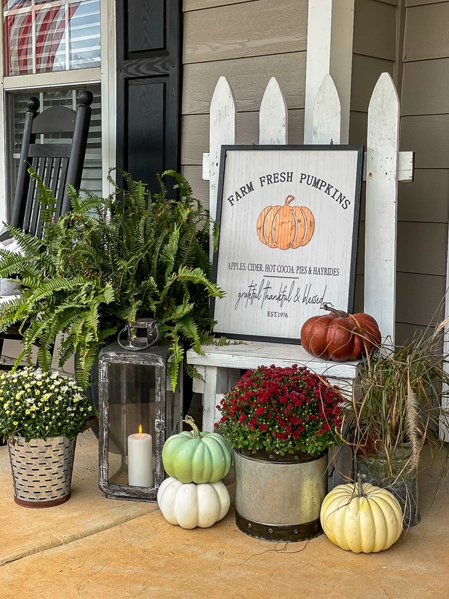 Cozy Fall Front Porch-1