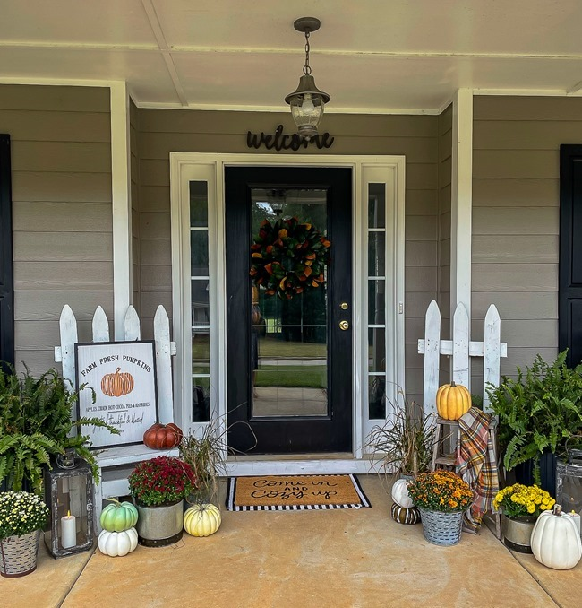 Cozy Fall Front Porch-14