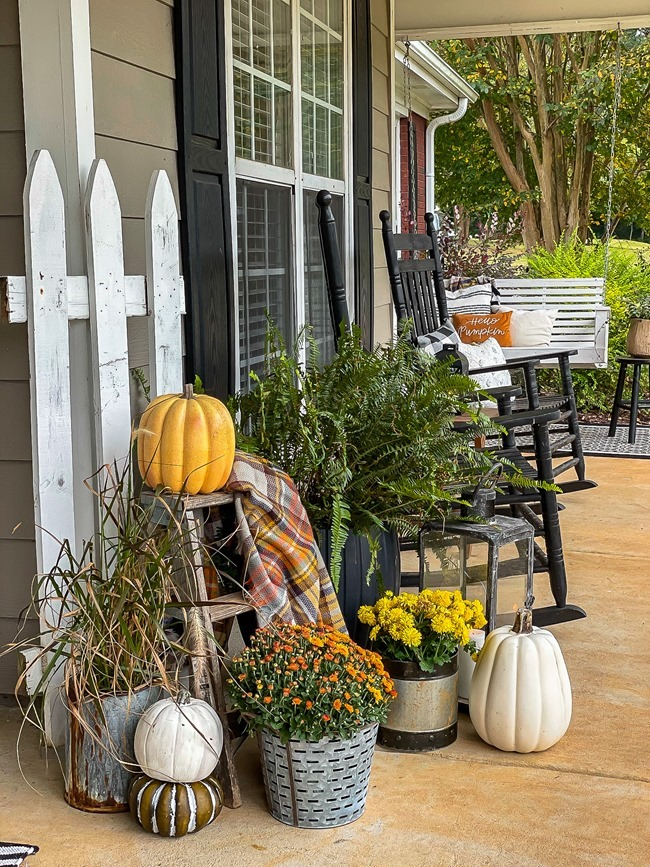 Cozy Fall Front Porch-7