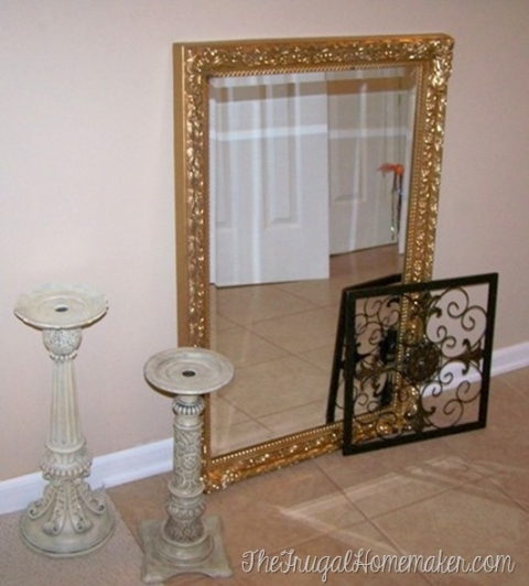 It S Time For Your Second Spray Paint, What Paint To Use On Metal Mirror Frame