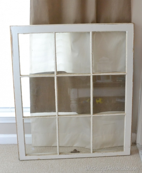 Decorating ideas for old windows – The Frugal Homemaker