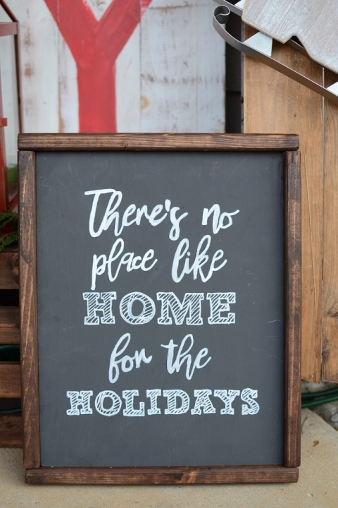 Diy Painted Wood Sign The Frugal Homemaker